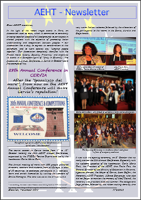 Newsletter of Novembre 2015