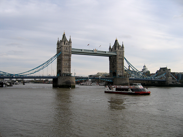 Magnificent Tower Bridge, one of London's tourism jewels