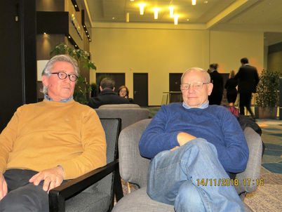 Roy van Sassen and Jürgen Clausen taking things very easy!
