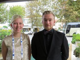 Or again Thomas Lindgren aged 19 and Henna Kaugas aged 18 from the Helsinki school (Finland)