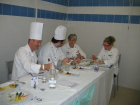 The tasting of the dishes, a key moment for the judges