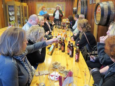 A very lively guided tasting