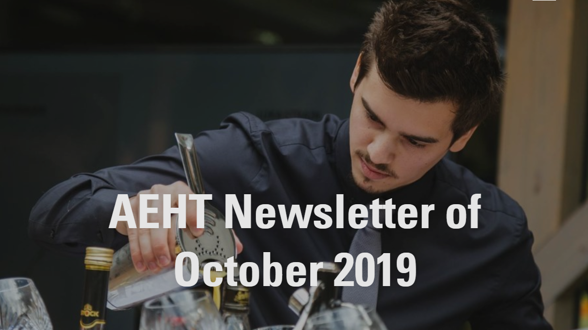 Newsletter of October 2019