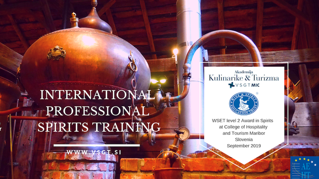 WSET level 2 Award in Spirits banner 2019