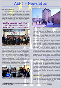 Newsletter of May 2015