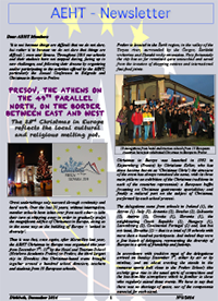Newsletter of December 2014