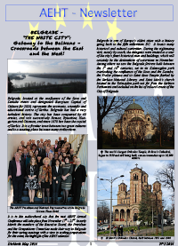 Newsletter of May 2014
