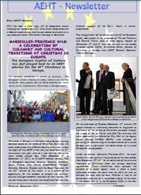Newsletter of December 2013