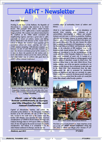 Newsletter of May 2012