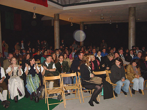part of the audience