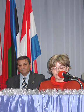 The speech delivered by Ms Grazyna Cudak the representative of the Governor of Wielkopolska Province Mr Andrzej Nowakowski