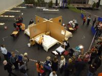 Seen from above, the Housekeeping and Room-service competition