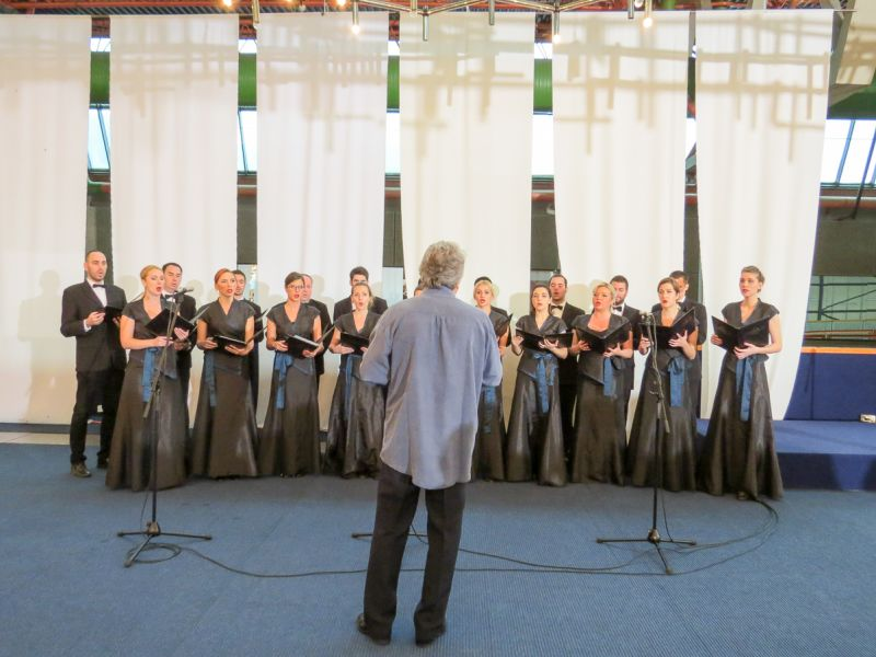 Partial View Of The Hall The Ivo Lola Ribar Choir