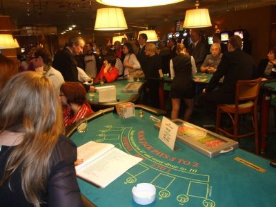 A casino atmosphere is ensured!