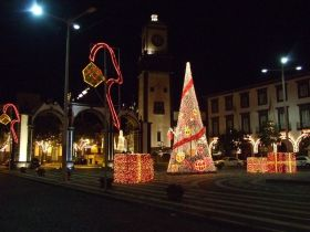 The illuminations in Ponta Delgada