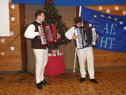 Porec (Croatia) Christmas carol, accordion and flute