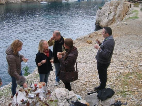 Beside the Cassis calanque