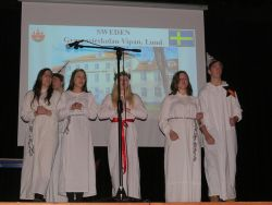 Sweden (Lund and Orebro) – Santa Lucia