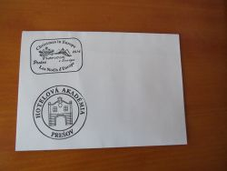 Stamped envelopes (by school students)