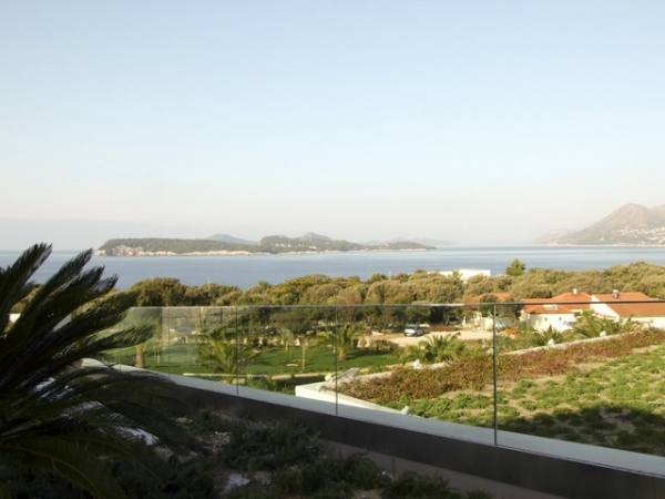 View from the terrace of the Valamar Lacroma Resort