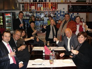 A toast to the 21th AEHT Annual Conference at La Perla