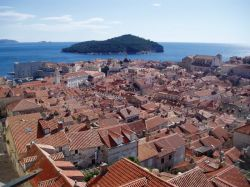 A view over Dubrovnik's roof-tops